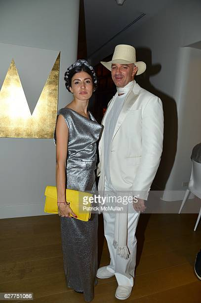 Danie Gomez and Alan Faena attend Galerie Gmurzynska Sir Norman Rosenthal and Claude RuizPicasso Dinner at Art Basel Miami Beach 2016 at Faena Hotel...
