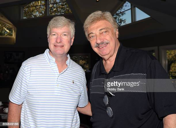 Daniel A Jost and Vito Picone of The Elegants attend the 2nd Annual Laughs On The Links Celebrity Golf Tennis Bocce Outing at Richmond Country Club...