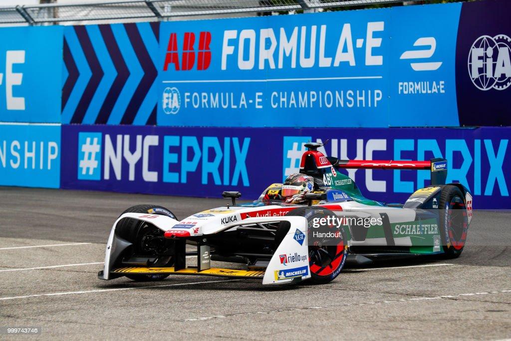 New York City ePrix - ABB Formula E Championship : News Photo