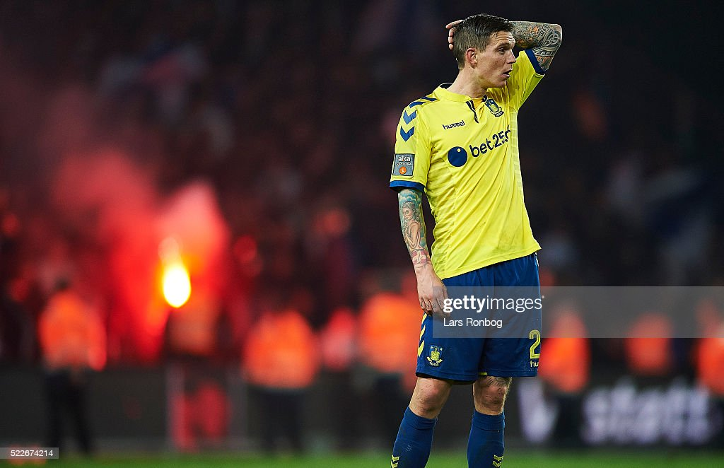 Brondby IF vs FC Copenhagen - Danish Cup DBU Pokalen semifinal : News Photo