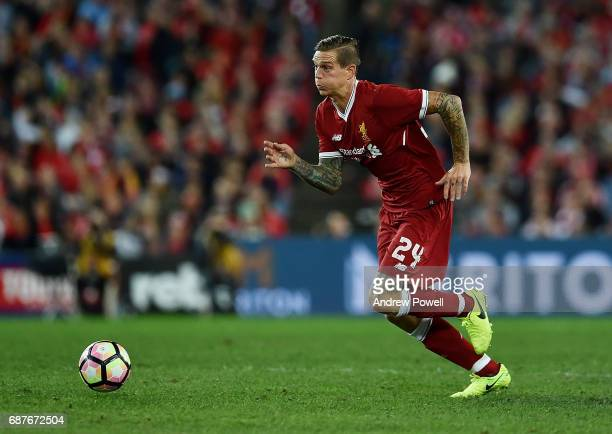 Daniel Agger of Liverpool during the International Friendly match between Sydney FC and Liverpool FC at ANZ Stadium on May 24 2017 in Sydney Australia
