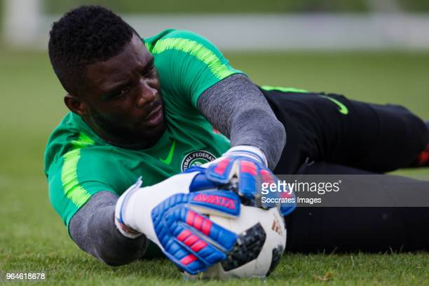 Daniel Akpeyi of Nigeria during the Nigeria Training at the The hive on May 31 2018 in Barnet United Kingdom