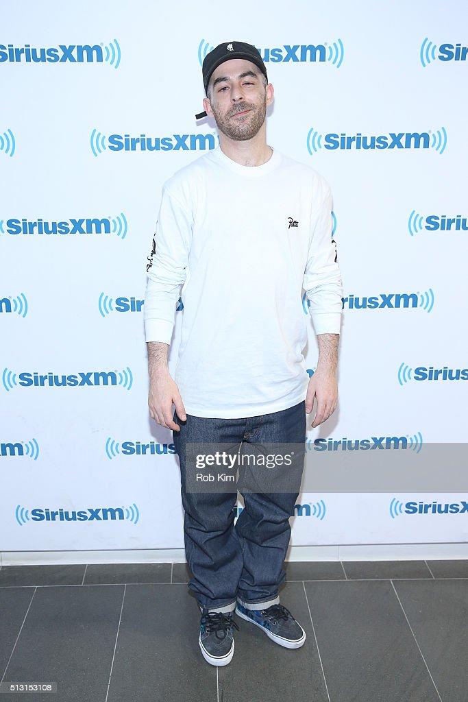 Daniel Alan Maman, aka Alchemist visits at SiriusXM Studio on February 29, 2016 in New York City.