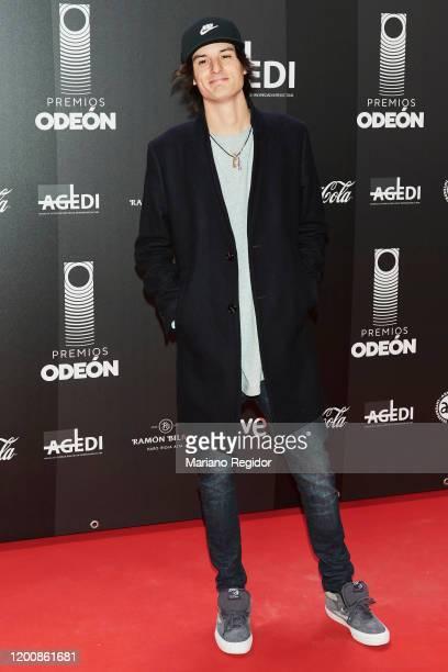Daniel Alejandro Morales aka Danny Ocean attends Odeon Awards 2020 at Royal Theater on January 20 2020 in Madrid Spain