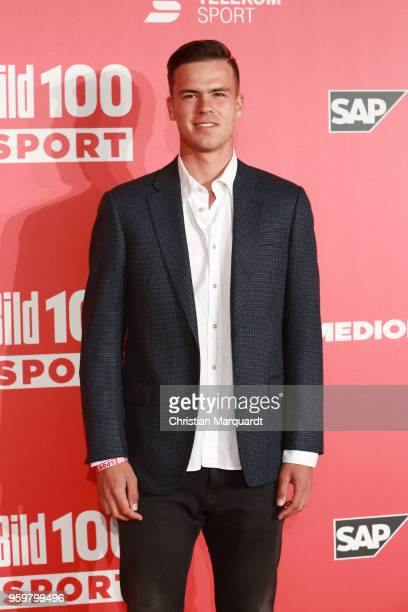 Daniel Altmaier attends the BILD100 SPORT Get Together at Bild Sport Arena on May 18 2018 in Berlin Germany