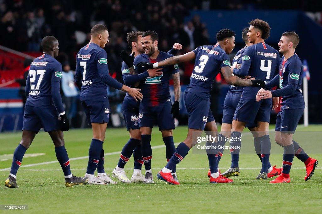 Paris Saint-Germain v FC Nantes - Coupe de France: Semi Final : News Photo
