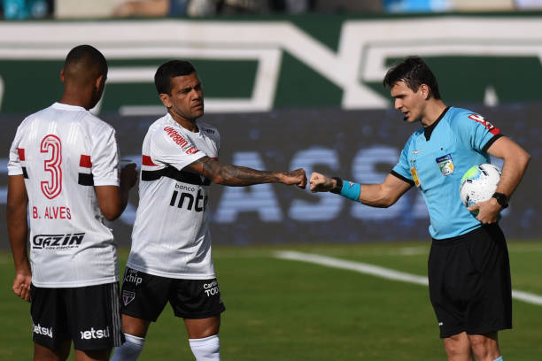 BRA: Goias v Sao Paulo First Round of the 2020 Brasileirao Series A Match Suspended After Goias Players Tested Positive for COVID - 19