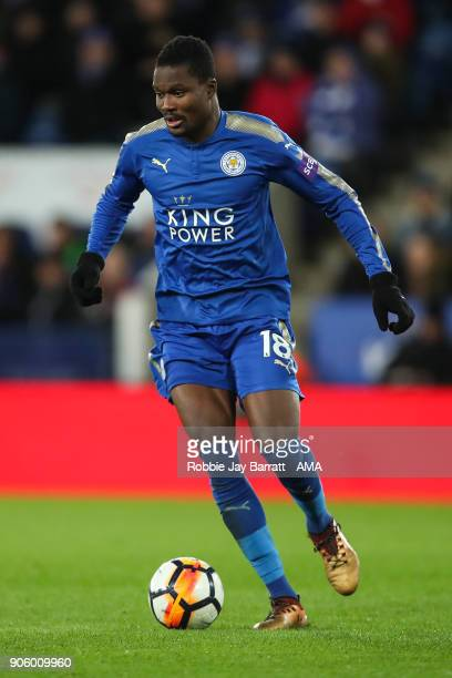 Daniel Amartey of Leicester City during The Emirates FA Cup Third Round Replay match between Leicester City and Fleetwood Town at The King Power...