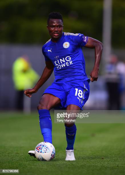Daniel Amartey of Leicester City during the PreSeason Friendly match between Burton Albion v Leicester City at Pirelli Stadium on August 1 2017 in...