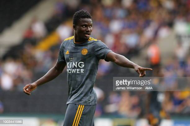 Daniel Amartey of Leicester City during the preseason match between Notts County and Leicester City at Meadow Lane on July 21 2018 in Nottingham...