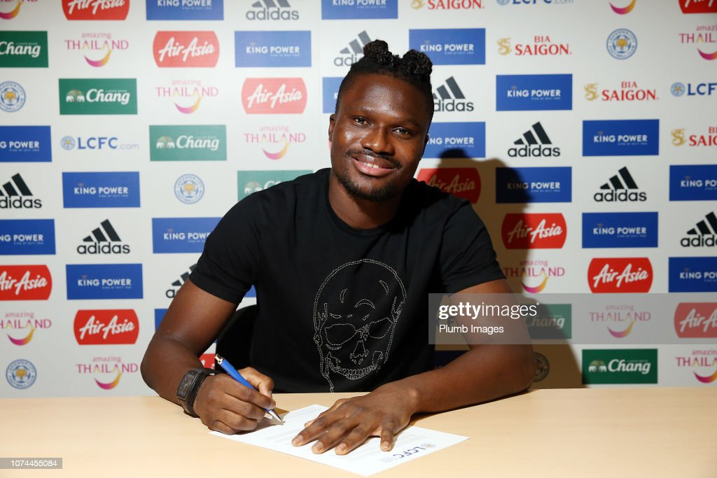 Daniel Amartey Signs a New Contract at Leicester City : News Photo