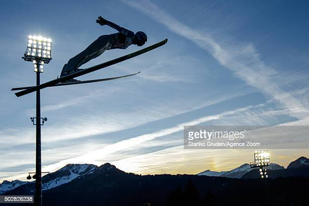 Daniel Andre Tande of Norway competes during the FIS Nordic World Cup Four Hills Tournament on December 29 2015 in Oberstdorf Germany
