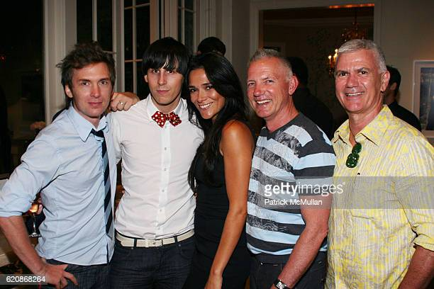 Daniel Auber Jerome Rousseau Simone Kessell Terence Armstrong and Clive Aspin attend Florence Serge Azria Host Mothers Against Gang Violence Benefit...