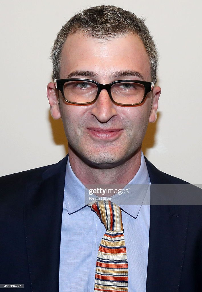 Daniel Aukin poses at The Opening Night for the MTC production of Sam Shepard's 'Fool For Love' on Broadway at Urbo NYC on October 8, 2015 in New York City.