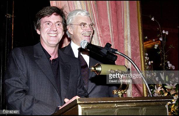 Daniel Auteuil and Daniel Toscan du Plantier at Rendez vous with French cinema 2001 in New York United States on March 13 2001