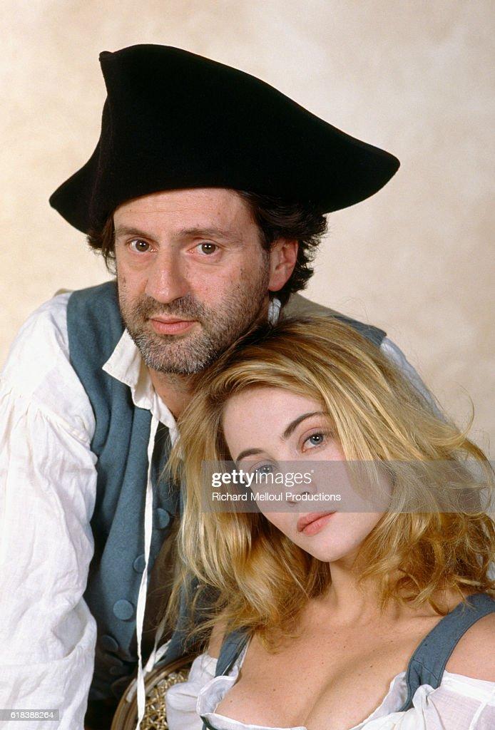 Daniel Auteuil and Emmanuelle Beart : Photo d'actualité