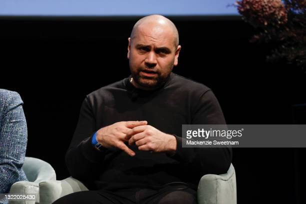 Daniel Avakian during The Future of Fashion is Intelligent talk during Afterpay Australian Fashion Week 2021 Resort '22 Collections at Carriageworks...