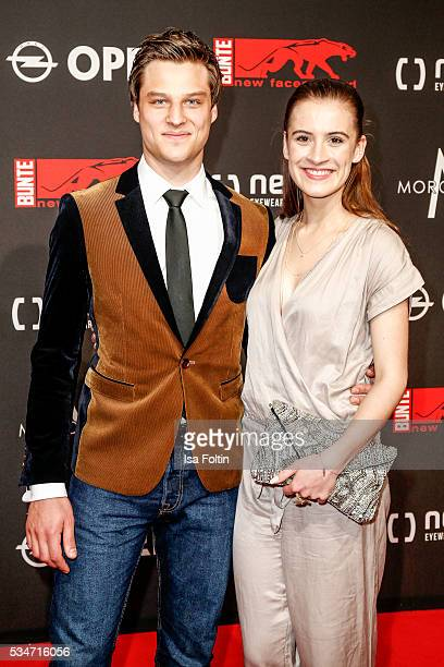Daniel Axt and guest attend the New Faces Award Film 2016 at ewerk on May 26 2016 in Berlin Germany