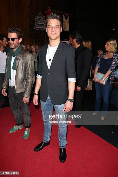 Daniel Axt attends the 'Verbotene Liebe' Premiere at Cinenova on April 20 2015 in Cologne Germany