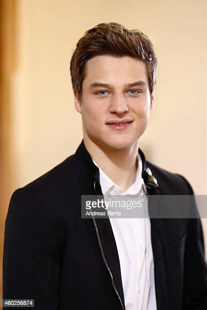 Daniel Axt poses for a portrait during the '20 Jahre Verbotene Liebe' photocall on December 10 2014 in Cologne Germany
