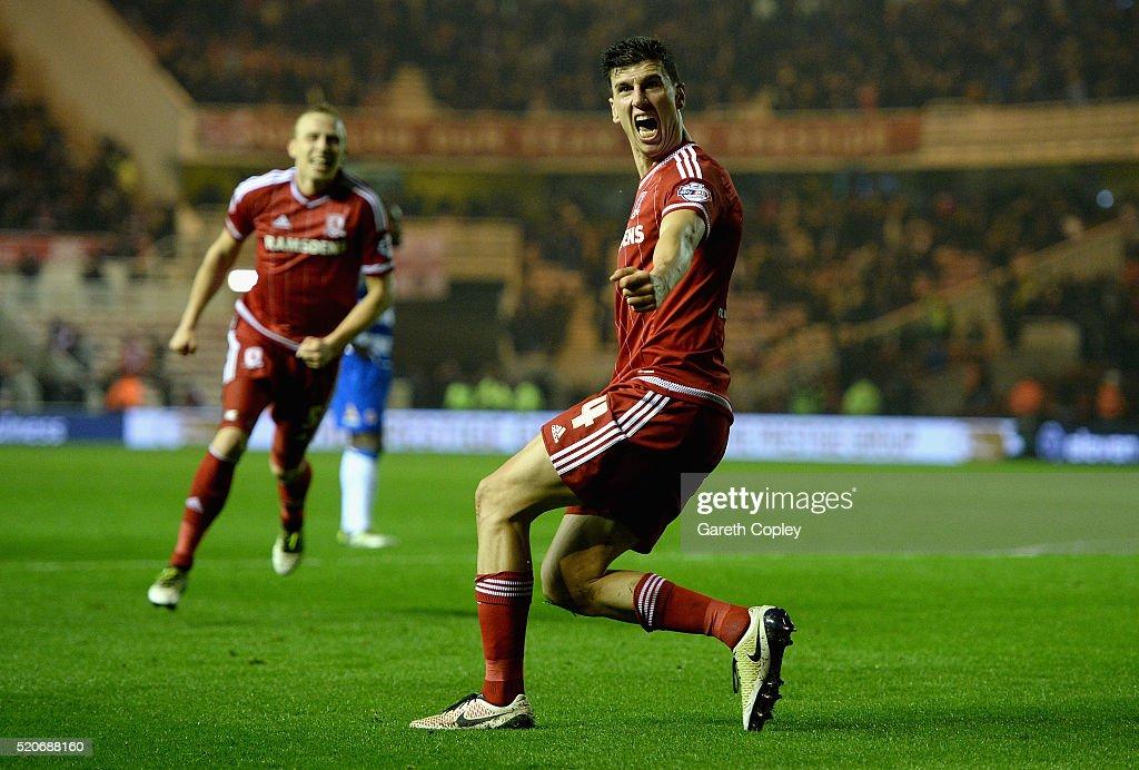 Middlesbrough v Reading   - Sky Bet Championship : News Photo