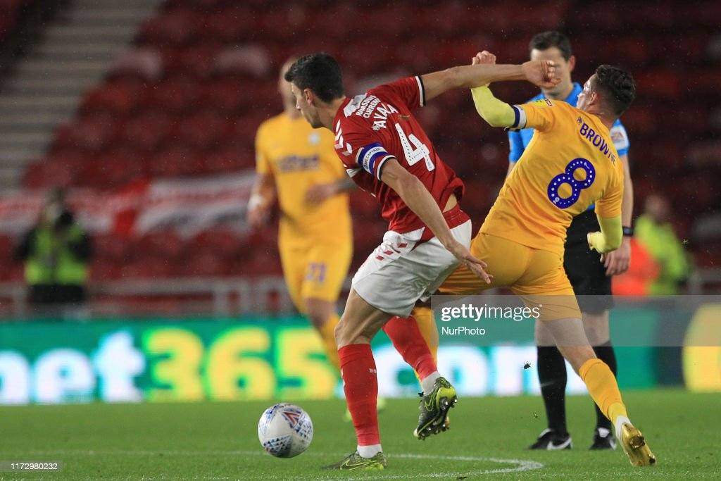Middlesbrough v Preston North End - Sky Bet Championship : News Photo