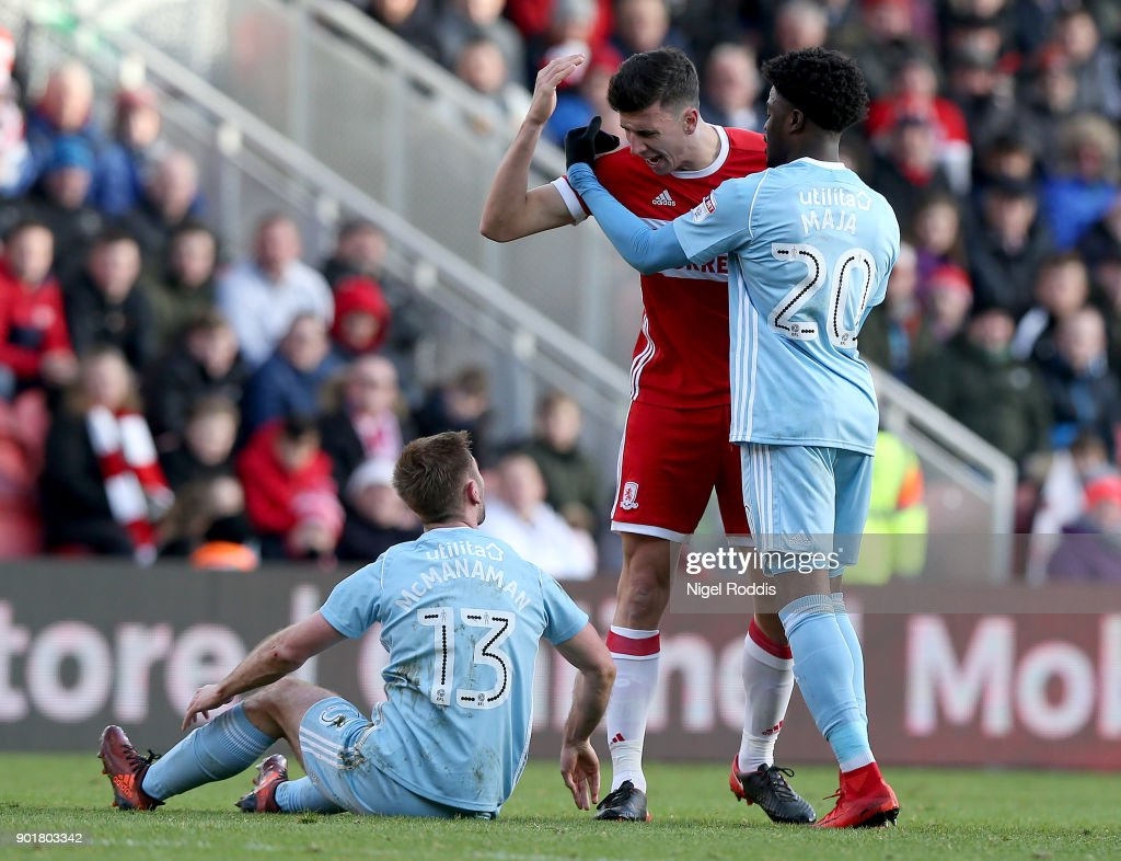 Middlesbrough v Sunderland - The Emirates FA Cup Third Round : News Photo