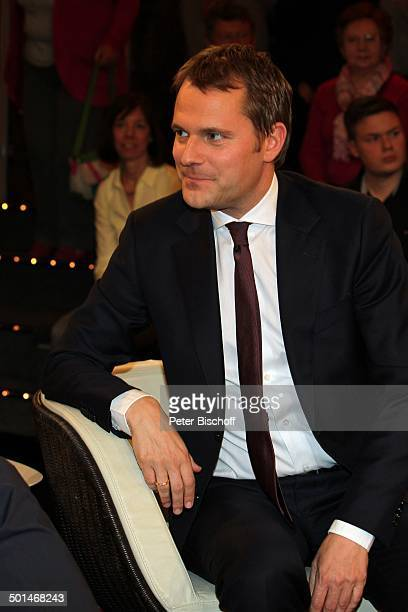 Daniel Bahr ZDFTalkshow Markus Lanz HamburgBahrenfeld Deutschland Europa Studio TalkShow Politiker Promi BB CD PNr 030/2014