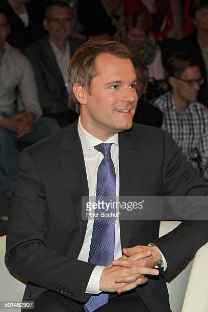 Daniel Bahr ZDFTalkshow Markus Lanz HamburgBahrenfeld Deutschland Europa Studio TalkShow Politiker Promi BB FTP PNr 130/2014