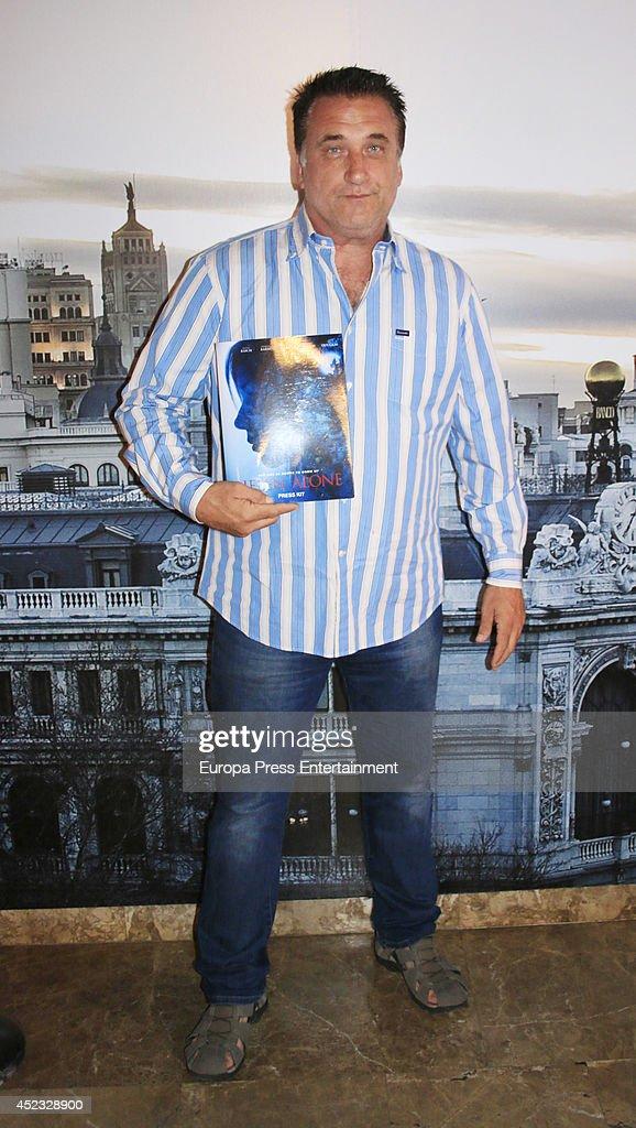 Daniel Baldwin Presents 'Helen Alone' at the Madrid International Film Festival : News Photo