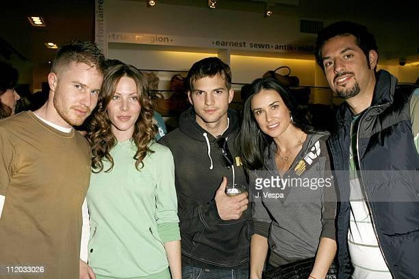 Daniel Ballard Andi Ballard Ashton Kutcher Demi Moore and Guy Oseary