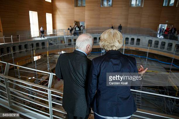 Daniel Barenboim musical director of the Berlin State Opera and cofounder of the WestEastern Divan Orchestra and State Secretary in the Chancellery...