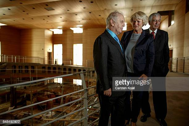 Daniel Barenboim musical director of the Berlin State Opera and cofounder of the WestEastern Divan Orchestra State Secretary in the Chancellery...