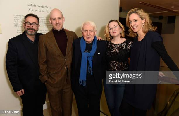 Daniel Bates Robert Hastie Peter Gill Josie Rourke and Kate Pakenham attend the press night after party for 'The York Realist' at The Hospital Club...