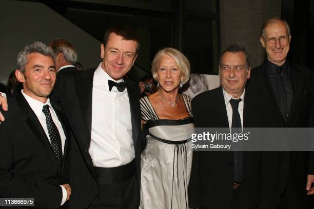 Daniel Battsek Peter Morgan Helen Mirren Stephen Frears and James Cromwell