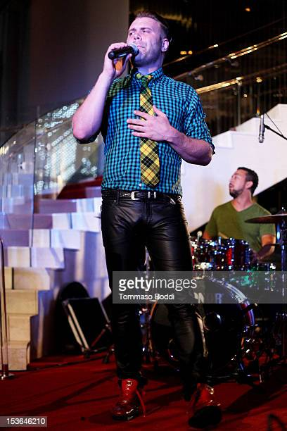 Daniel Bedingfield performs at The Living Room at The W Hotel on October 7 2012 in Los Angeles California