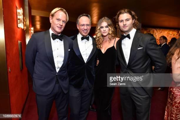 Daniel Benedict Andrew Saffir Nina Agdal and Jack BrinkleyCook attend The Metropolitan Opera Opening Night Gala SaintSaens' Samson et Dalila at...