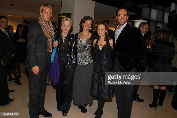 Daniel Benedict Pat York Jan Rothschild Bettina Zilkha and Andrew Saffir attend LOUIS VUITTON presents OLAFUR ELIASSON at LOUIS VUITTON on Fifth...