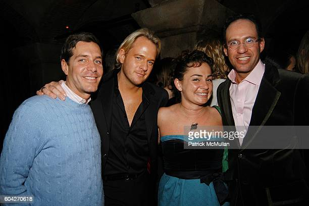 Daniel Benedict Savannah Buffet and Andrew Saffir attend Amanda ScheerDemme and Amy Sacco host a night at Teddy's at Teddy's on March 1 2006