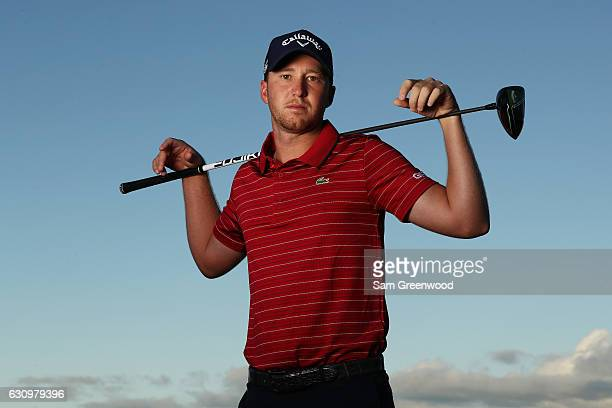 Daniel Berger of the United States poses for a photo during the proam prior to the SBS Tournament of Champions at the Plantation Course at Kapalua...