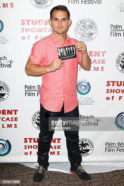 Daniel Berilla attends Palm Beach International Film Festival 2016 Filmmakers Meet And Greet on April 7 2016 in Manalapan Florida