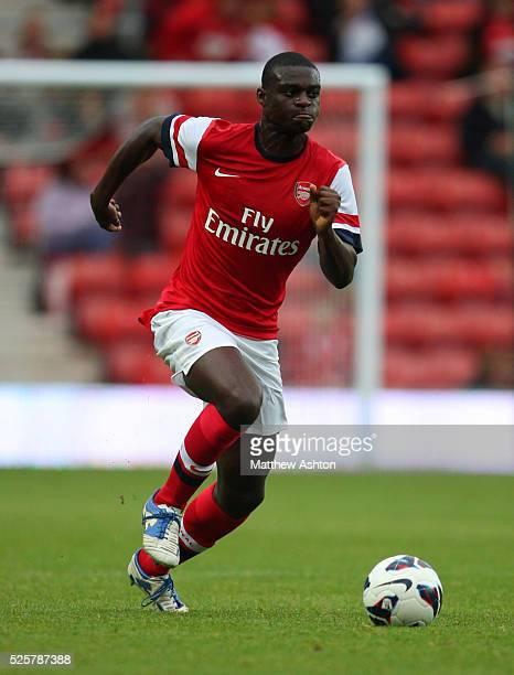 Daniel Boateng of Arsenal
