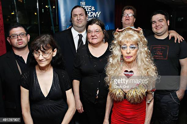 Daniel 'Bobo' Kurlan Patti 'Stalker Patti' Brooks Big A Diana 'Lady Di' Orbani Mike Bocchetti Sandy Kane and Oscar visit 'The Opie Anthony Show' at...