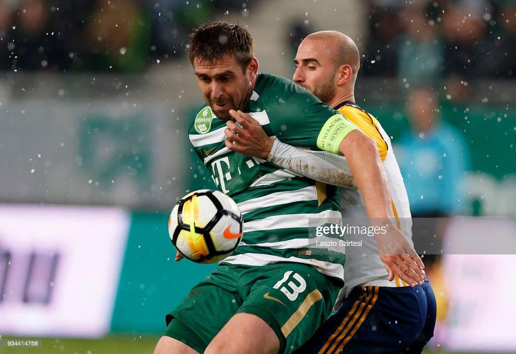 Ferencvarosi TC v Puskas Akademia FC - Hungarian OTP Bank Liga : News Photo