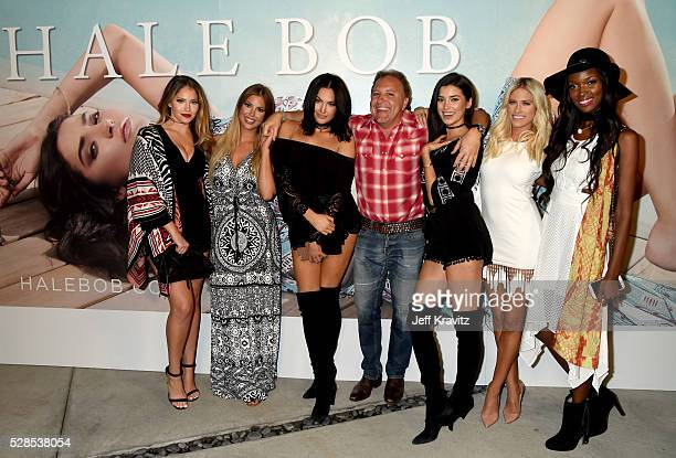 Daniel Bohbot owner of Hale Bob and TV personalities Olivia Pierson Sophia Pierson Natalie Halcro Barbie BlankSouray Tia Shipman and Nicole Williams...