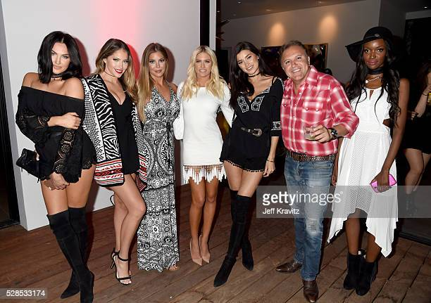 Daniel Bohbot owner of Hale Bob with TV personalities Natalie Halcro Olivia Pierson Sophia Pierson Barbie BlankSouray Nicole Williams and Tia Shipman...