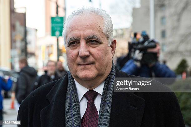 Daniel Bonventre age 67 who served as Director of Operations for Madoff Investment Securities leaves federal court after being found guilty of...