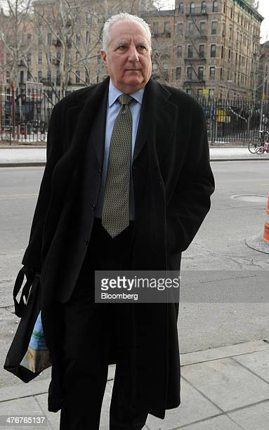 Daniel Bonventre former director of operations at Bernard L Madoff Investments Securities LLC arrives at federal court in New York US on Wednesday...
