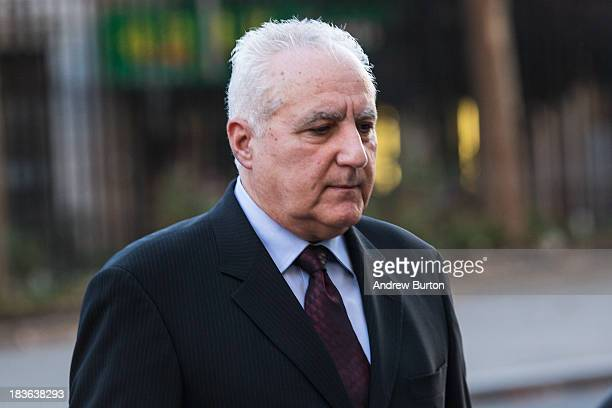 Daniel Bonventre former director of operations for investments working under Bernie Madoff arrives at Federal Court to begin a trial being brought...