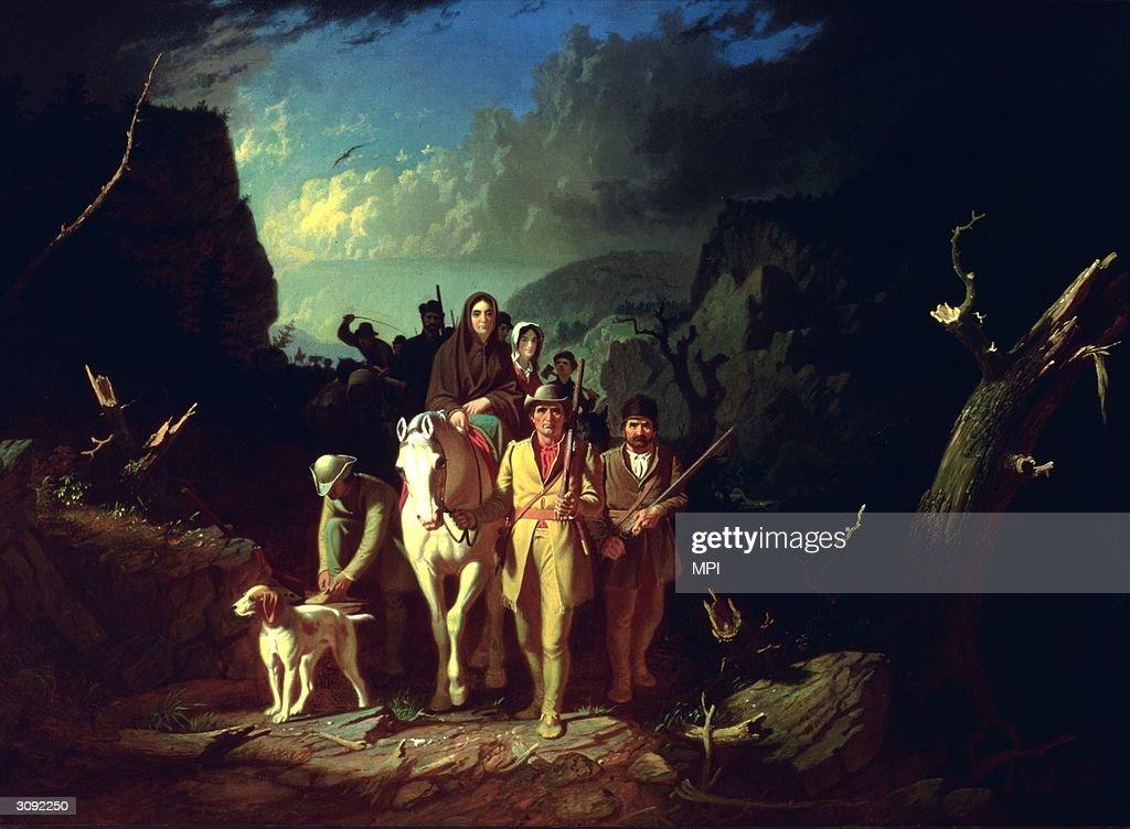 Daniel Boone : Foto jornalística